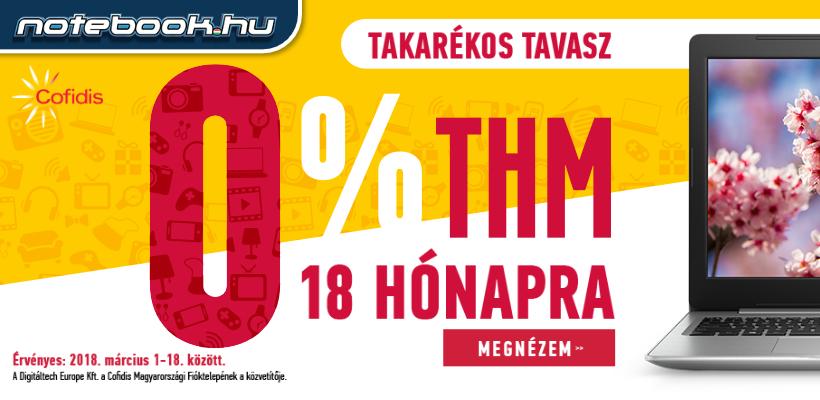 0% THM akció - Most akár 18 havi 0% THM-mel vásárolhatsz a Notebook ... 8142b4fa68